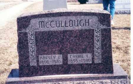 MCCULLOUGH, HARVEY LESTER - Darke County, Ohio | HARVEY LESTER MCCULLOUGH - Ohio Gravestone Photos