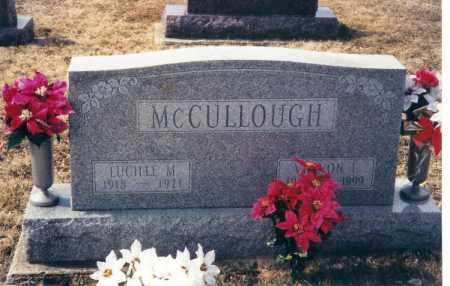 MCCULLOUGH, VERNON L. - Darke County, Ohio | VERNON L. MCCULLOUGH - Ohio Gravestone Photos