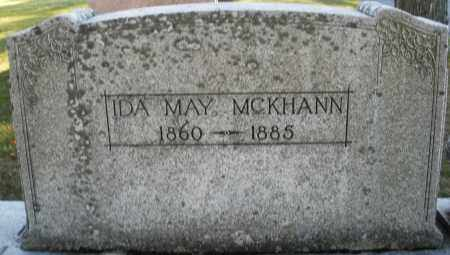 MCKHANN, IDA MAY - Darke County, Ohio | IDA MAY MCKHANN - Ohio Gravestone Photos