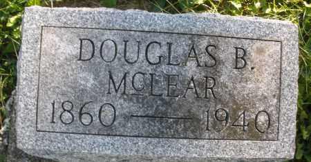 MCLEAR, DOUGLAS B. - Darke County, Ohio | DOUGLAS B. MCLEAR - Ohio Gravestone Photos