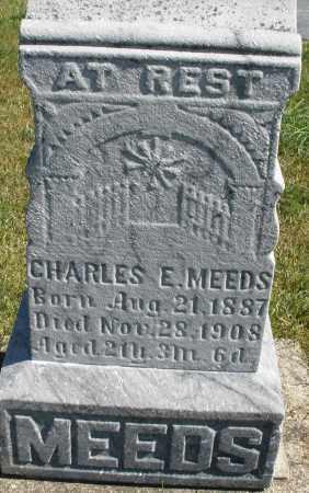 MEEDS, CHARLES E. - Darke County, Ohio   CHARLES E. MEEDS - Ohio Gravestone Photos