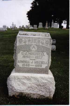 MIKESELL, ARMINDA J. - Darke County, Ohio | ARMINDA J. MIKESELL - Ohio Gravestone Photos