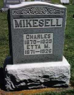 MIKESELL, CHARLES - Darke County, Ohio | CHARLES MIKESELL - Ohio Gravestone Photos