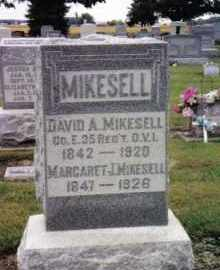 MIKESELL, DAVID A. - Darke County, Ohio | DAVID A. MIKESELL - Ohio Gravestone Photos