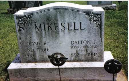 TYRE MIKESELL, ROSIE K. - Darke County, Ohio | ROSIE K. TYRE MIKESELL - Ohio Gravestone Photos