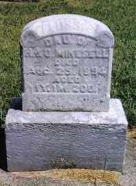 MIKESELL, FLOSSIE - Darke County, Ohio   FLOSSIE MIKESELL - Ohio Gravestone Photos