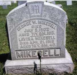 MIKESELL, GEORGE W. - Darke County, Ohio | GEORGE W. MIKESELL - Ohio Gravestone Photos