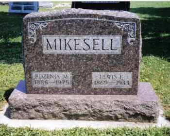 MIKESELL, LEWIS J. - Darke County, Ohio | LEWIS J. MIKESELL - Ohio Gravestone Photos