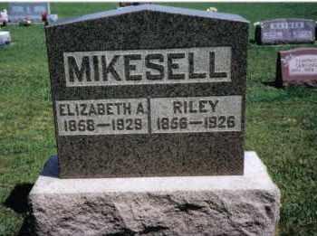 MIKESELL, ELIZABETH A. - Darke County, Ohio   ELIZABETH A. MIKESELL - Ohio Gravestone Photos