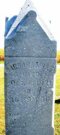MILLER, BARBARA - Darke County, Ohio | BARBARA MILLER - Ohio Gravestone Photos