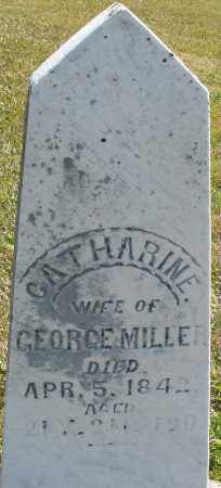 MILLER, CATHARINE - Darke County, Ohio | CATHARINE MILLER - Ohio Gravestone Photos