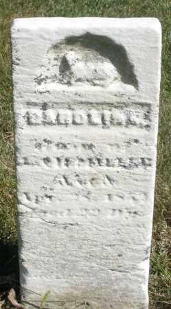 MILLER, CHILD - Darke County, Ohio | CHILD MILLER - Ohio Gravestone Photos