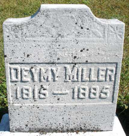 MILLER, DEYMY - Darke County, Ohio | DEYMY MILLER - Ohio Gravestone Photos