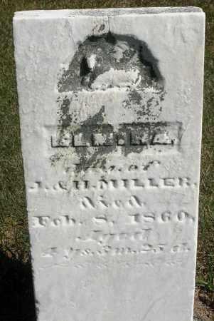 MILLER, ELMIRA - Darke County, Ohio   ELMIRA MILLER - Ohio Gravestone Photos