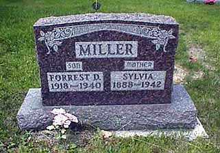 MILLER, FORREST D. - Darke County, Ohio   FORREST D. MILLER - Ohio Gravestone Photos