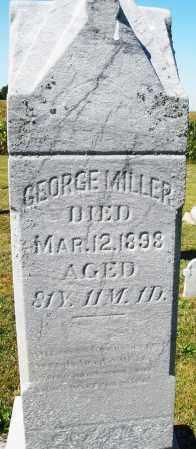 MILLER, GEORGE - Darke County, Ohio | GEORGE MILLER - Ohio Gravestone Photos