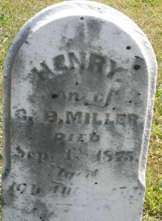 MILLER, HENRY - Darke County, Ohio | HENRY MILLER - Ohio Gravestone Photos