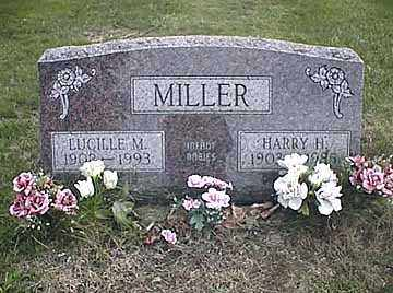 MILLER, HARRY HARVEY - Darke County, Ohio | HARRY HARVEY MILLER - Ohio Gravestone Photos