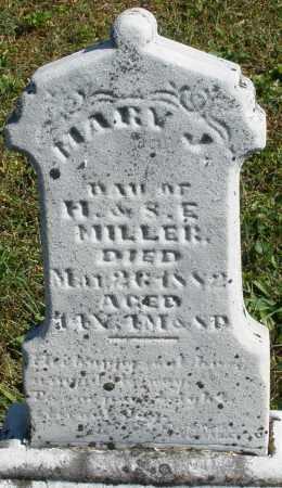 MILLER, MARY J. - Darke County, Ohio | MARY J. MILLER - Ohio Gravestone Photos