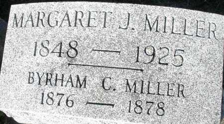 MILLER, BYRHAM C. - Darke County, Ohio | BYRHAM C. MILLER - Ohio Gravestone Photos