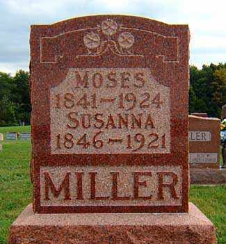 MAURER MILLER, SUSANNAH - Darke County, Ohio | SUSANNAH MAURER MILLER - Ohio Gravestone Photos