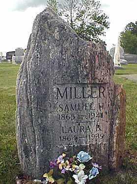MILLER, LAURA BELLE - Darke County, Ohio | LAURA BELLE MILLER - Ohio Gravestone Photos