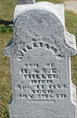 MILLER, WILLIAM - Darke County, Ohio | WILLIAM MILLER - Ohio Gravestone Photos