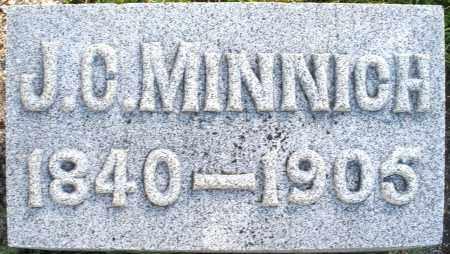 MINNICH, J.O. - Darke County, Ohio | J.O. MINNICH - Ohio Gravestone Photos
