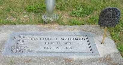 MOORMAN, GREGORY D. - Darke County, Ohio   GREGORY D. MOORMAN - Ohio Gravestone Photos