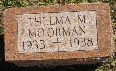 MOORMAN, THELMA M. - Darke County, Ohio | THELMA M. MOORMAN - Ohio Gravestone Photos