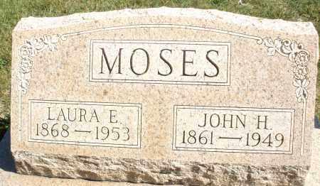 MOSES, LAURA E. - Darke County, Ohio   LAURA E. MOSES - Ohio Gravestone Photos