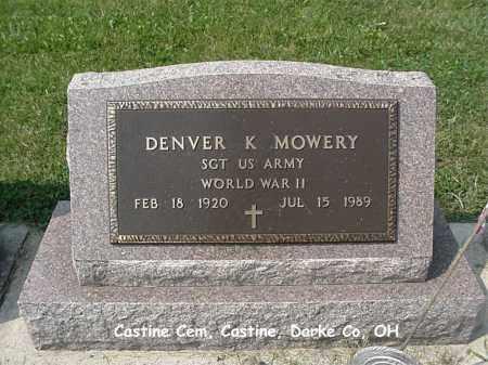 MOWERY, DENVER - Darke County, Ohio | DENVER MOWERY - Ohio Gravestone Photos