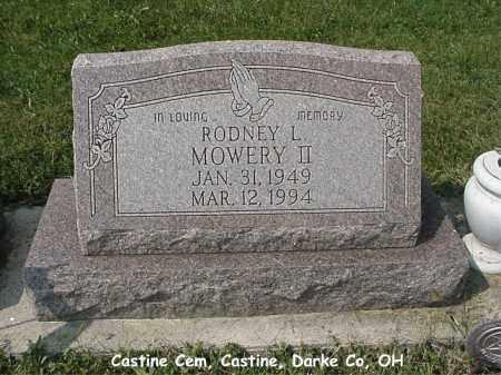 MOWERY, II, RODNEY - Darke County, Ohio | RODNEY MOWERY, II - Ohio Gravestone Photos