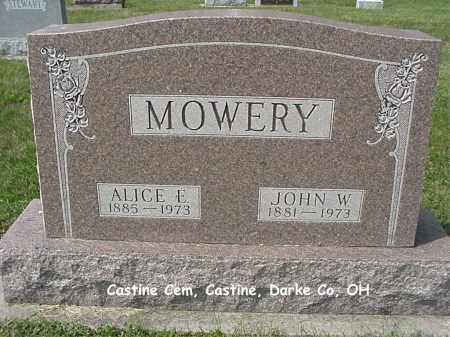 MOWERY, ALICE - Darke County, Ohio | ALICE MOWERY - Ohio Gravestone Photos