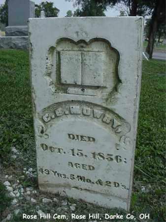MOWRY, CHRISTIAN - Darke County, Ohio | CHRISTIAN MOWRY - Ohio Gravestone Photos