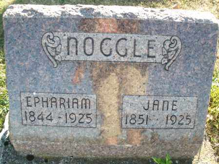NOOGLE, JANE - Darke County, Ohio   JANE NOOGLE - Ohio Gravestone Photos