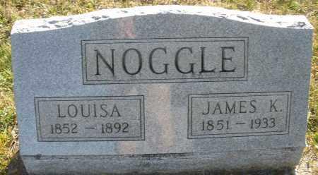NOOGLE, LOUISA - Darke County, Ohio   LOUISA NOOGLE - Ohio Gravestone Photos