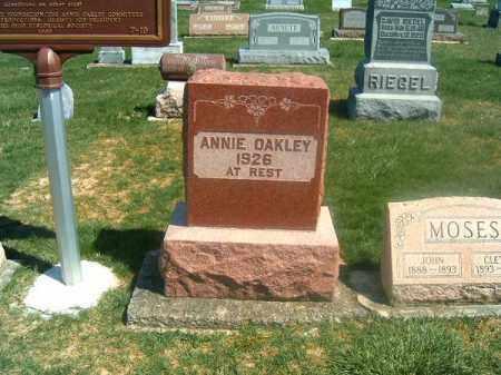 OAKLEY, ANNIE - Darke County, Ohio | ANNIE OAKLEY - Ohio Gravestone Photos