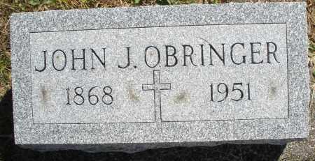OBRINGER, JOHN J. - Darke County, Ohio | JOHN J. OBRINGER - Ohio Gravestone Photos