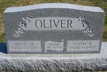 OLIVER, OSTIA R. - Darke County, Ohio | OSTIA R. OLIVER - Ohio Gravestone Photos