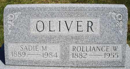 OLIVER, SADIE M. - Darke County, Ohio | SADIE M. OLIVER - Ohio Gravestone Photos