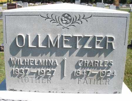 OLLMETZER, CHARLES - Darke County, Ohio | CHARLES OLLMETZER - Ohio Gravestone Photos