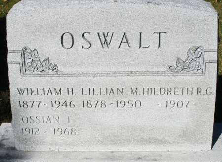 OSWALT, LILLIAN M. - Darke County, Ohio | LILLIAN M. OSWALT - Ohio Gravestone Photos