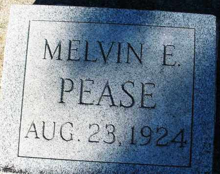 PEASE, MELVIN E. - Darke County, Ohio | MELVIN E. PEASE - Ohio Gravestone Photos