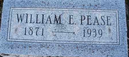PEASE, WILLIAM E. - Darke County, Ohio   WILLIAM E. PEASE - Ohio Gravestone Photos