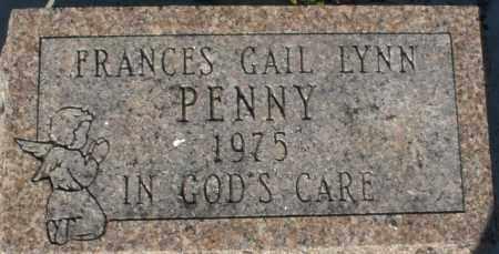 PENNY, FRANCES GAIL LYNN - Darke County, Ohio   FRANCES GAIL LYNN PENNY - Ohio Gravestone Photos