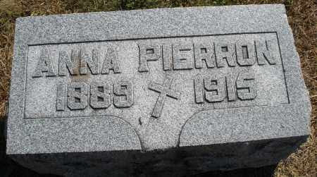 PIERRON, ANNA - Darke County, Ohio   ANNA PIERRON - Ohio Gravestone Photos