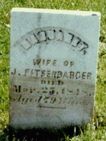 BUTCHER PITSENBARGER, MARGARET - Darke County, Ohio | MARGARET BUTCHER PITSENBARGER - Ohio Gravestone Photos