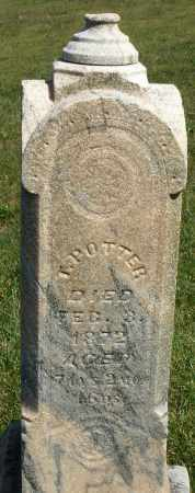 POTTER, T. - Darke County, Ohio | T. POTTER - Ohio Gravestone Photos