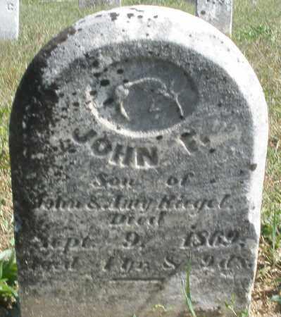 RIEGEL, JOHN - Darke County, Ohio   JOHN RIEGEL - Ohio Gravestone Photos